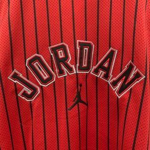 Jordan brand jersey.